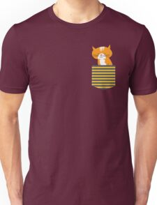 cat in my pocket Unisex T-Shirt