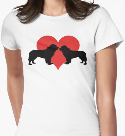 Newfoundland couple Womens Fitted T-Shirt