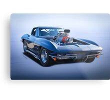 1964 Corvette 'Blown' Pro Street Stingray Metal Print