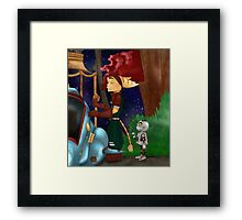 Cookie Time Framed Print