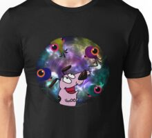 Courage Dog And The Aliens Unisex T-Shirt