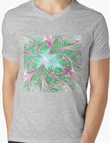 Butterfly's Wings - Abstract Fractal Artwork Mens V-Neck T-Shirt