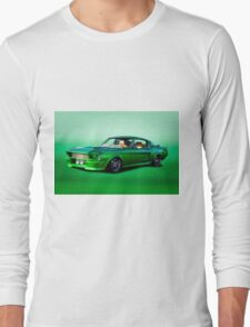 1968 Ford Mustang Fastback II Long Sleeve T-Shirt