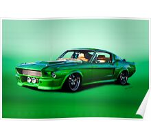 1968 Ford Mustang Fastback II Poster