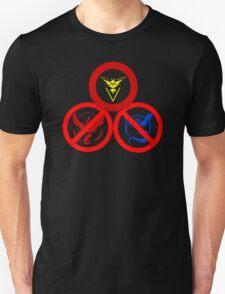 Pokemon GO: Instint Allowed (Yellow Team) Unisex T-Shirt