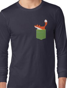 fox in my pocket Long Sleeve T-Shirt