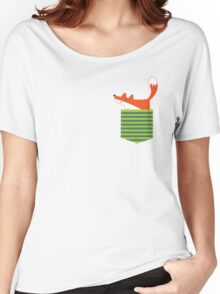 fox in my pocket Women's Relaxed Fit T-Shirt