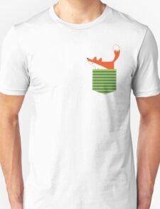 fox in my pocket Unisex T-Shirt