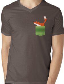 fox in my pocket Mens V-Neck T-Shirt