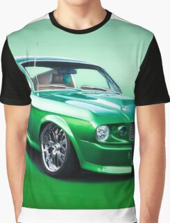 1968 Ford Mustang Fastback I Graphic T-Shirt
