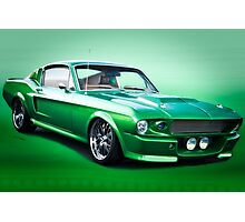 1968 Ford Mustang Fastback I Photographic Print