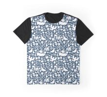 silhouette - navy Graphic T-Shirt