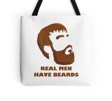 Real Men Have Beards Tote Bag