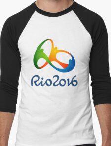 Rio 2016 Olympics Men's Baseball ¾ T-Shirt