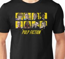-TARANTINO- Pulp Fiction Characters Unisex T-Shirt