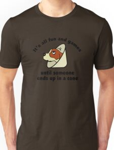 It's All Fun And Games Until Someone Ends Up In A Cone. Unisex T-Shirt