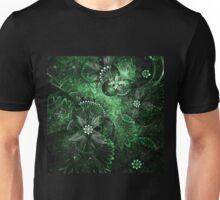 Green Garden - Abstract Fractal Artwork Unisex T-Shirt