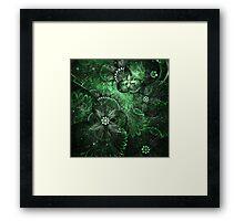 Green Garden - Abstract Fractal Artwork Framed Print