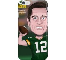 Aaron Rodgers - Green Bay Packers - NFL Caricature iPhone Case/Skin