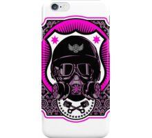 Drag Racing Helmet - Pink Design iPhone Case/Skin