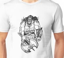 Barbarian Sketch Unisex T-Shirt