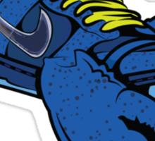 blue lobster sb dunk Sticker