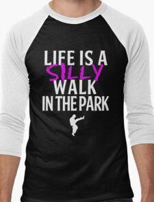 Silly Walks Men's Baseball ¾ T-Shirt