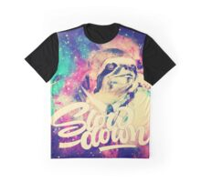 Sloth-Slow Down Graphic T-Shirt