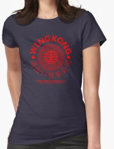 WING KONG - BIG TROUBLE IN LITTLE CHINA JACK BURTON (RED) Womens Fitted T-Shirt