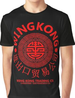 WING KONG - BIG TROUBLE IN LITTLE CHINA JACK BURTON (RED) Graphic T-Shirt