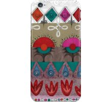the rhyme of repetitive elements - fire, water, earth, air iPhone Case/Skin
