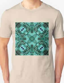 Dark Mandala - Abstract Fractal Artwork Unisex T-Shirt