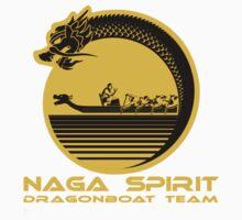 Naga Spirit Logo Yellow Large One Piece - Long Sleeve