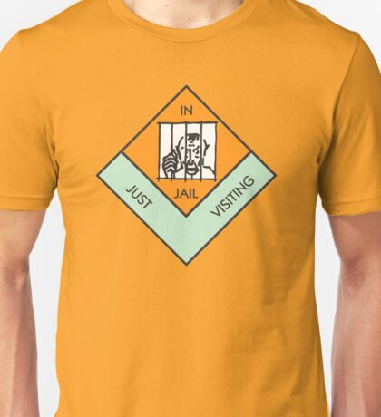 MONOPOLY BOARD GAME JAIL Unisex T-Shirt