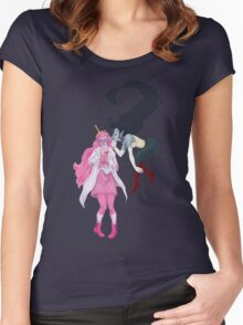 Marceline is not allowed in the Laboratory anymore Women's Fitted Scoop T-Shirt