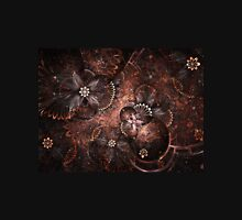 Warm Blooms - Abstract Fractal Artwork Unisex T-Shirt