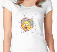 FLICKA HEARTS Women's Fitted Scoop T-Shirt