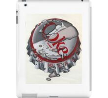 Coke capsule (Coca Cola) iPad Case/Skin