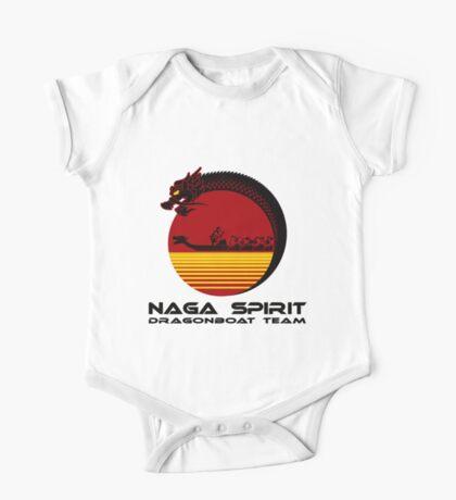 Naga Spirit Logo Red Large One Piece - Short Sleeve