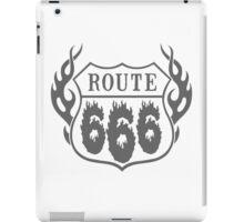 Route 666 design iPad Case/Skin
