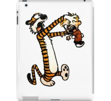 Zombie Fight Calvin And Hobbes iPad Case/Skin