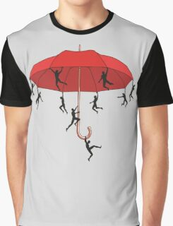 Umbrella Mayhem Graphic T-Shirt
