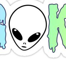 sigma kappa alien Sticker