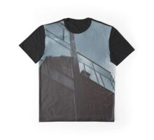 Vertical Reflection Graphic T-Shirt