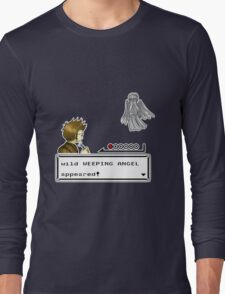 Weeping Angel Appeared! Long Sleeve T-Shirt