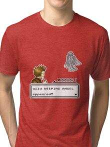 Weeping Angel Appeared! Tri-blend T-Shirt