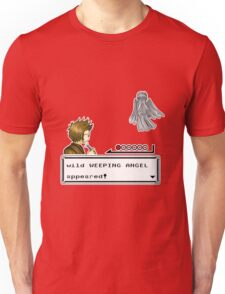Weeping Angel Appeared! Unisex T-Shirt