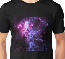 Midnight Clouds - Abstract Fractal Artwork Unisex T-Shirt