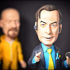 Saul Takes Walt's Glasses  by themighty