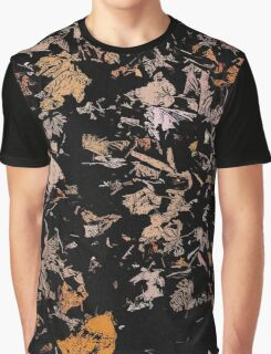 Leafs at Night pattern Graphic T-Shirt